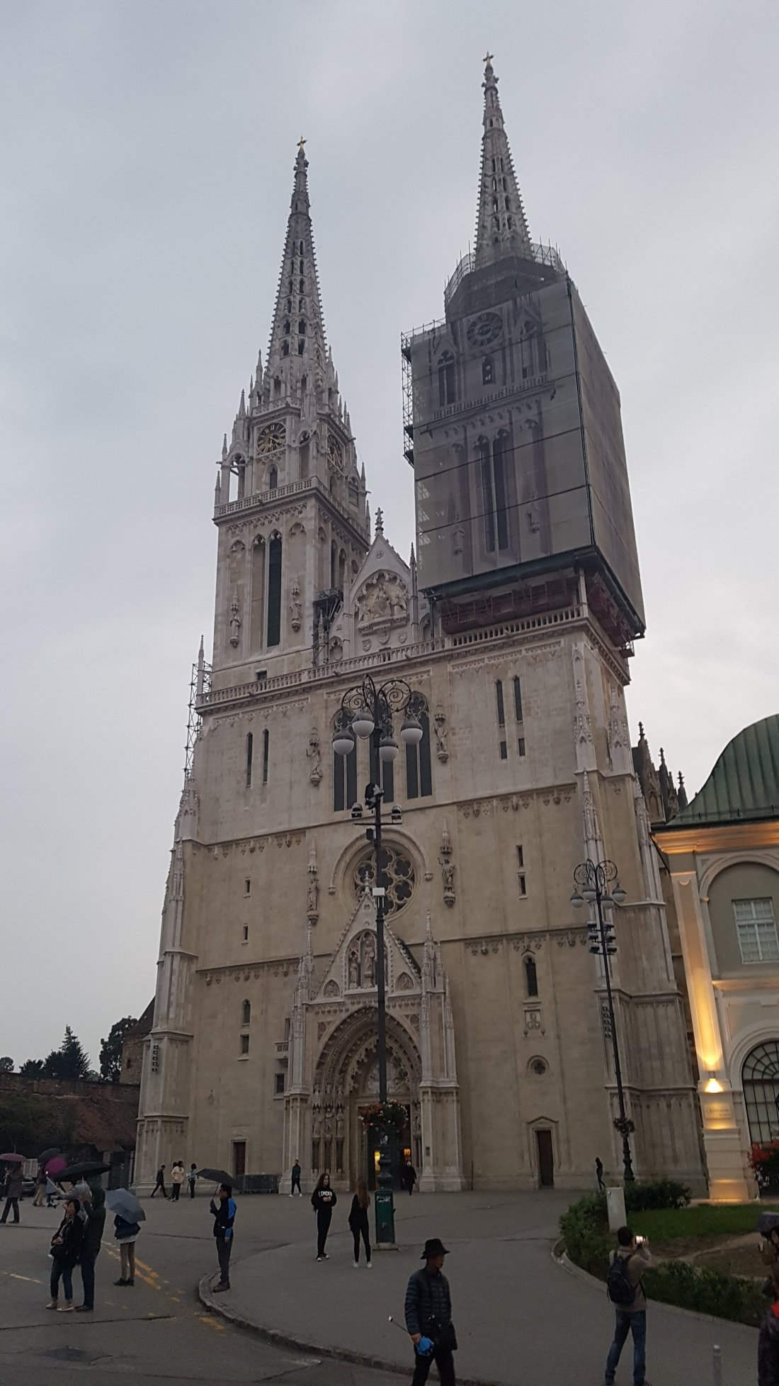 The Cathedral of Zagreb
