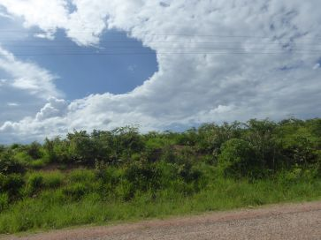 I loved the cloud formations in Tanzania